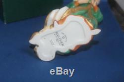12pc 1989 Franklin Mint Nativity Set in Porcelain Mint Boxes Manger Not Included
