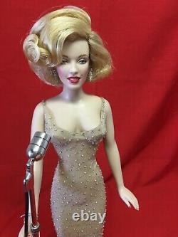18 Franklin Mint Marilyn Monroe Happy Birthday Mr President Porcelain Doll TS