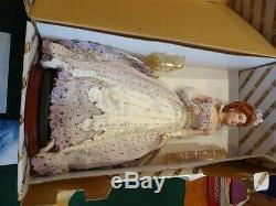 18 Franklin Mint Pearl Gibson Girl Debutante Porcelain Doll Ltd Ed RARE NRFB
