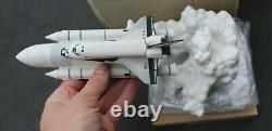 1990 Franklin Mint Space Society Columbia Space Shuttle Fine Porcelain Figurine