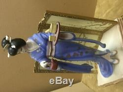 1990 Manabu Saito Tamiko Porcelain Figurine from The Franklin Mint