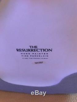 1991 Franklin Mint Jesus Carl Bloch The Resurrection Porcelain Figurine Statue