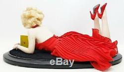 2002 Franklin Mint Forever Marilyn 18 Portrait Porcelain Doll USED