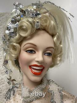24 Franklin Mint Porcelain Marilyn Monroe Doll There's No Business Like Show