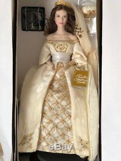 Aleksandra Franklin Mint Porcelain Doll, Faberge Winter Bride