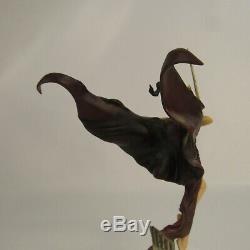 Angel of Darkness Fine Porcelain Sculpture 11 Figurine Franklin Mint #0291/5000