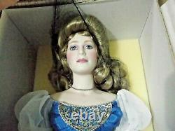 Arwen Evenstar Franklin Mint Heirloom Doll Porcelain Bnib Lord Of The Rings