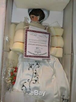 Ashton Drake, Night of Champagne and Caviar, 26 Porcelain, 2006 Rare-Bride Doll