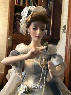 Authentic Franklin Heirloom porcelain Doll