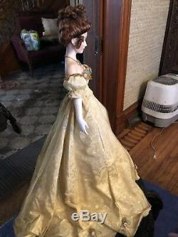 Authentic Franklin Heirloom porcelain Doll