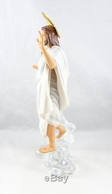 Beautiful Franklin Mint Sculpture The Divine Light of Jesus NO BOX 1016