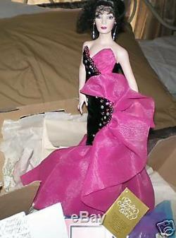 Bob Mackie Hollywood Couture Marissa Franklin Mint Doll
