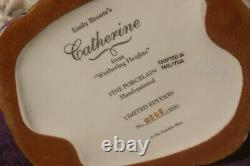 CATHERINE WUTHERING HEIGHTS Franklin Mint figurine, Ltd edition fine porcelain