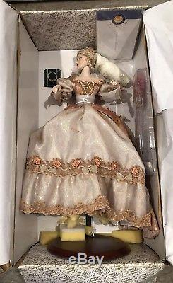 Cinderella After The Ball Happily Ever After Franklin Mint Porcelain Doll New
