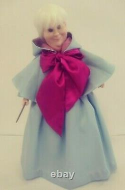 Cinderella Fairy Godmother Disney Limited Edition #324/5000 Porcelain Doll COA