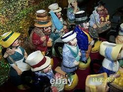 Cries of London Toby Jugs 1980 Franklin Porcelain LE Set of 12 Mint