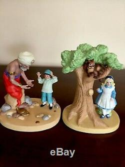 Danbury Mint Fairy Tale Porcelain Fugurines