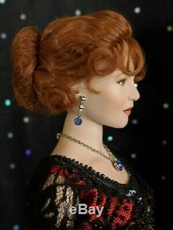 Danbury Mint, Rose the Official Titanic Porcelain, Portrait Doll, RARE