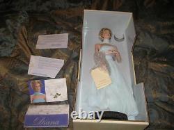 Diana Princess of Elegance Porcelain Portrait Doll
