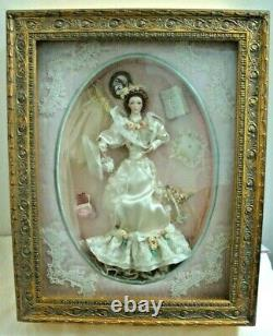 Elaine The Gibson Girl's Wedding Remembrance Bride Doll Franklin Mint No. C0599