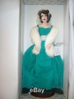 Elizabeth Taylor Porcelain Doll Franklin Mint RARE HTF