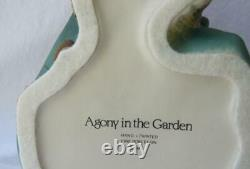 Exquisite Large Franklin Mint JESUS THE AGONY IN THE GARDEN Porcelain Figurine