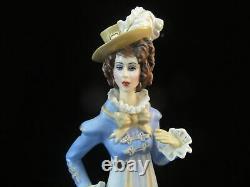 FRANKLIN MINT Georgette Heyer Estate Porcelain Fancy Lady SOPHY Figurine