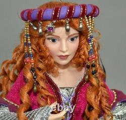 FRANKLIN MINT QUEEN MAB Merlin Camelot Porcelain Doll