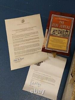 FRANKLIN MINT Replica of BEBE JUMEAU DOLL COA New with Original Box Rare