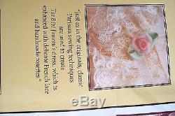 FRANKLIN MINT Replica of Priceless BEBE JUMEAU DOLL 21 COA New No Original Box
