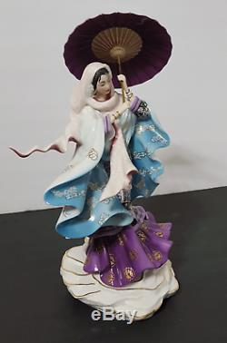 FRANKLIN MINT Spirit of Purity Porcelain Sculpture Limited Edition B11YS15 NEW