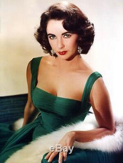 Franklin Heirloom Elizabeth Liz Taylor Emerald Green Gown Porcelain Doll