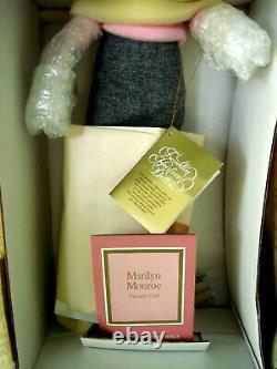Franklin Heirloom MARILYN MONROE 19 Porcelain Doll SWEATER GIRL As Shipped New