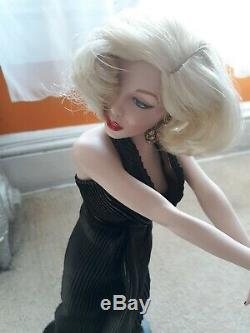 Franklin Heirloom Marilyn Monroe Collection Doll with no Box Porcelain1994