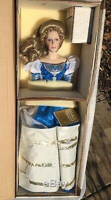 Franklin Heirloom Porcelain Doll Arwen Evenstar Lord Of The Rings Mint RARE