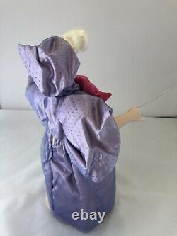 Franklin Heirloom Porcelain Doll Collection! Cinderella Fairy Godmother Charming