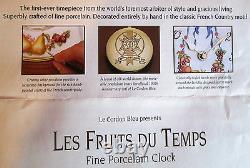 Franklin Mint 100th Anniversary Fine Porcelain Wall Clock