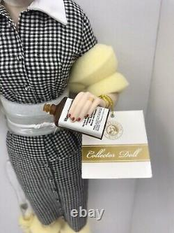 Franklin Mint 18 Lucille Ball Lucy Does A TV Commercial Porcelain Doll NIB