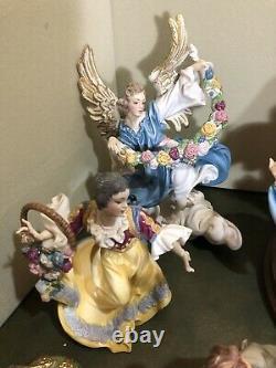 Franklin Mint 18 Piece Vatican Nativity Museum LE Set Creche Porcelain