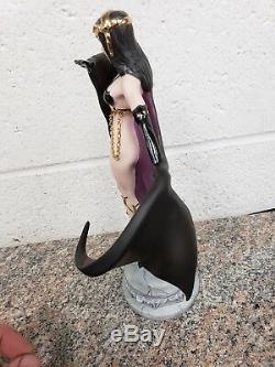 Franklin Mint Brom Temptress of The Night Porcelain Figurine