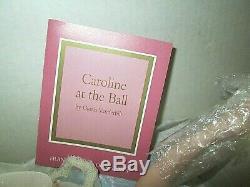 Franklin Mint Caroline At The Ball porcelain Doll Gloria Vanderbilt NIB COA