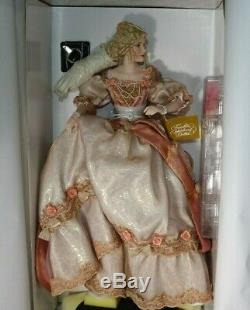 Franklin Mint Cinderella After the Ball Porcelain Doll NEW in Shipper NRFB