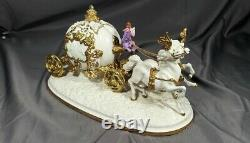 Franklin Mint Cinderella's Magical Moment Porcelain Anniversary Sculpture