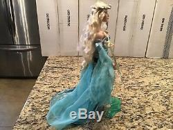 Franklin Mint Collector Porcelain Doll Lady of the Lake Camelot Series NICE