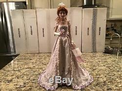 Franklin Mint Collector Porcelain Doll Pearl The Gibson Debutante COA & Numbered