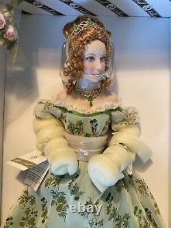 Franklin Mint Collector Porcelain Doll Rosie Princess Of Lismore Castle No Coa