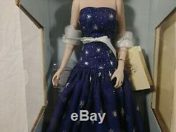 Franklin Mint Diana Princess Of Enchantment Porcelain Doll with Certificate
