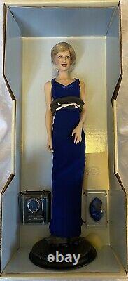 Franklin Mint Diana Princess Of Style Porcelain Portrait Doll 18 Inch BNIB