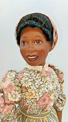 Franklin Mint Doll Butterfly McQueen as Prissy Gone with the Wind COA 20 GWTW