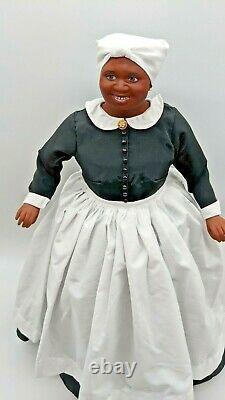 Franklin Mint Doll Hattie McDaniel as Mammi Gone with the Wind GWTW COA Red 19